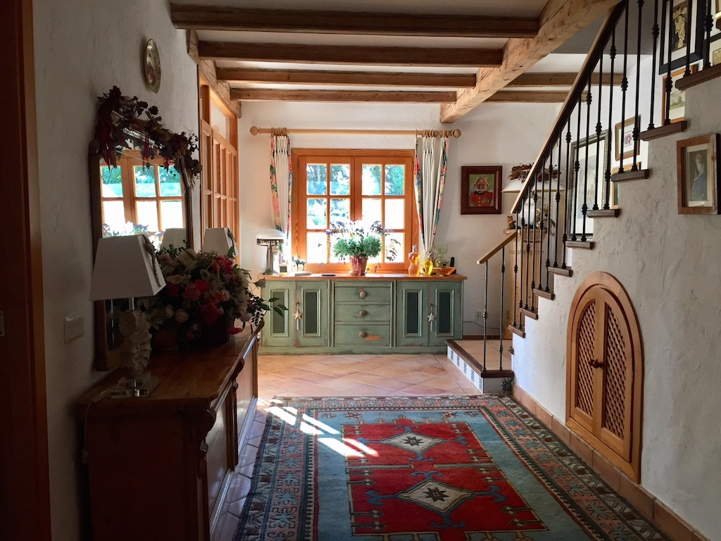 Hallway, house for sale Capdella