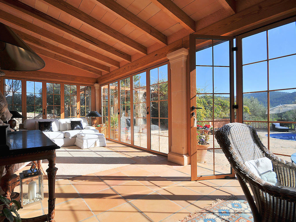 Conservatory, Capdella house for sale, 2.7m Euros