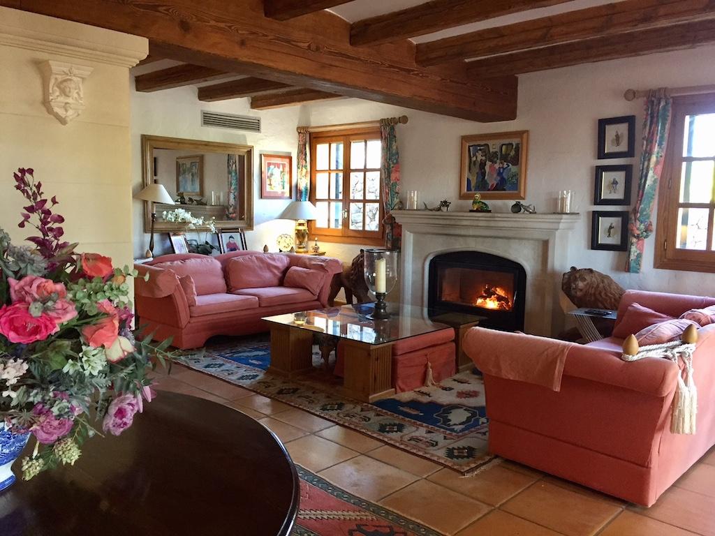 Living room, Capdella